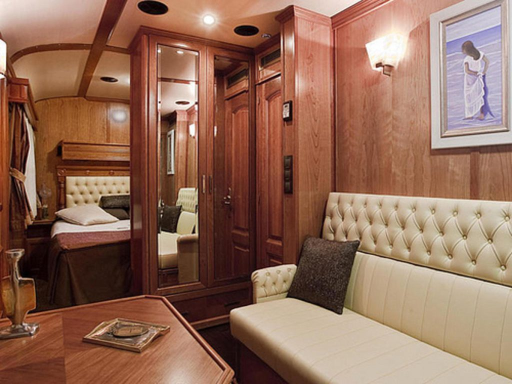 Luxury Orient Express train accommodation for rail holiday