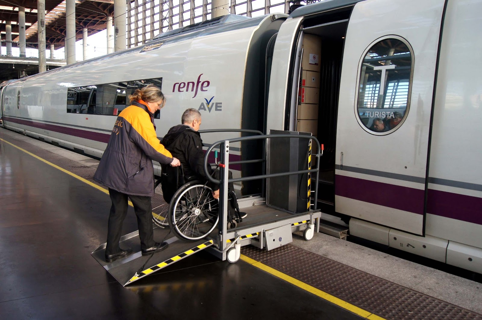 Increasing accessibility on transport through staff awareness