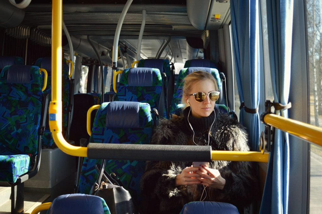 Using passenger wifi to improve accessibility on transport
