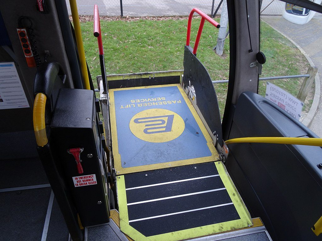 Adding a boarding ramp to increase accessibility on your coach service