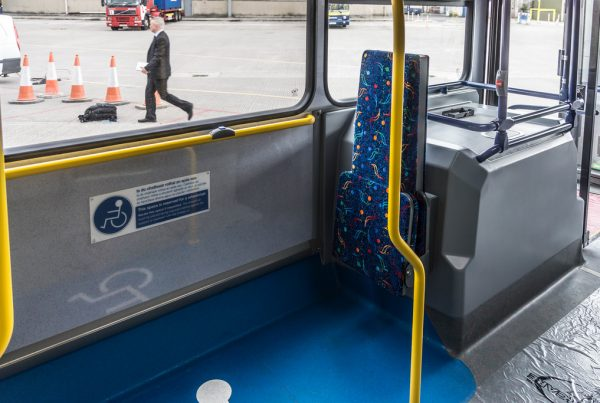 Increasing accessibility for passengers on transport
