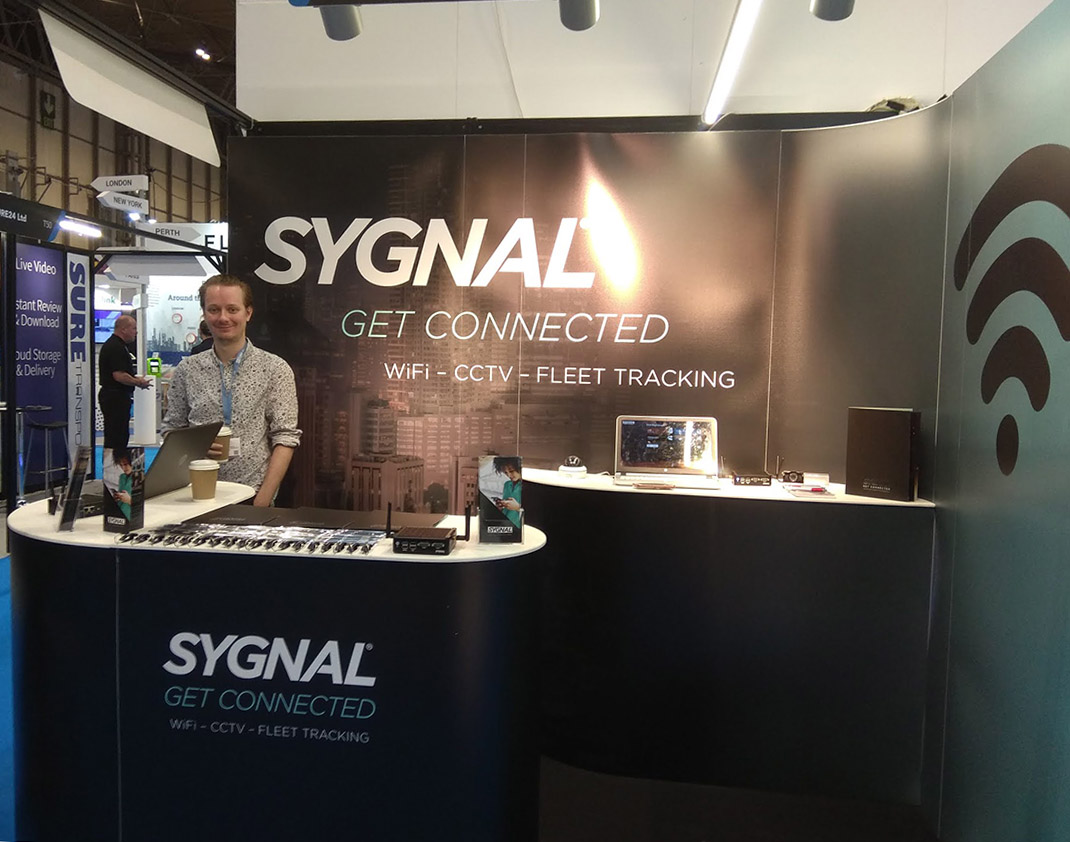 Sygnal at the Euro Bus Expo