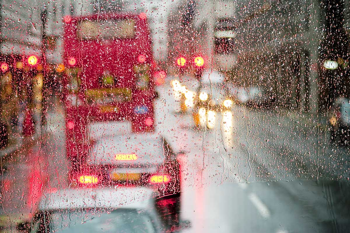 Using onboard analytics to track impact of weather patterns